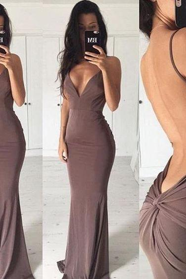 Sexy Backless Mermaid Prom Dress,Sexy Evening Dress,Long Prom Gowns,Party Dress, Maxi Dresses, Woman Dresses